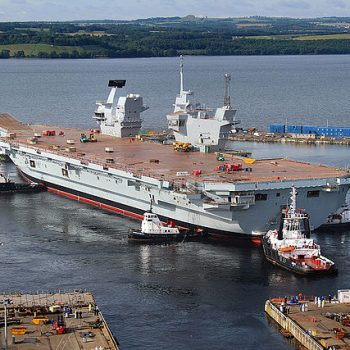 Does Britain Big New Warship Still Run Windows XP?