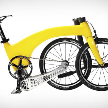 This Hummingbird Folding Bike Won't Put Your Back Out