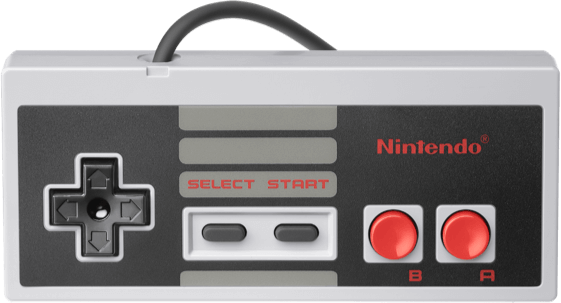 Wildly Popu Nintendo NES Classic Mini controller