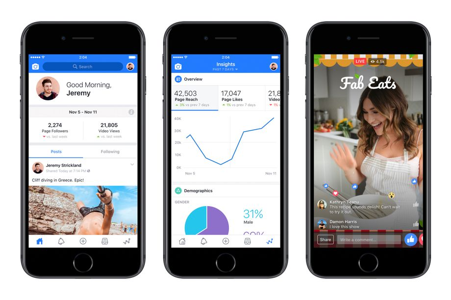 Finally Facebook Creator App Unveiled Just Made for the Video Creators
