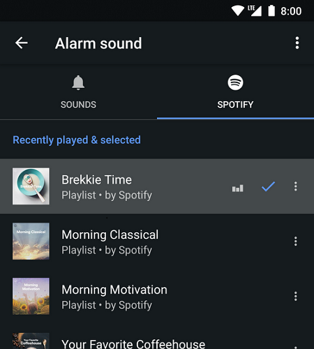 Google Clock is Getting Music Streaming Support