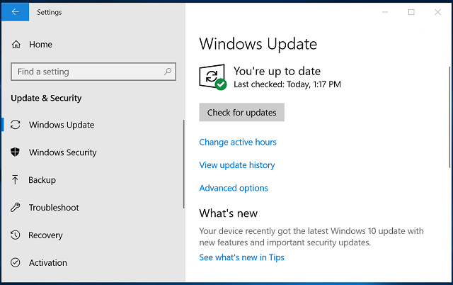 How to get the Windows 10 October 2018 Update