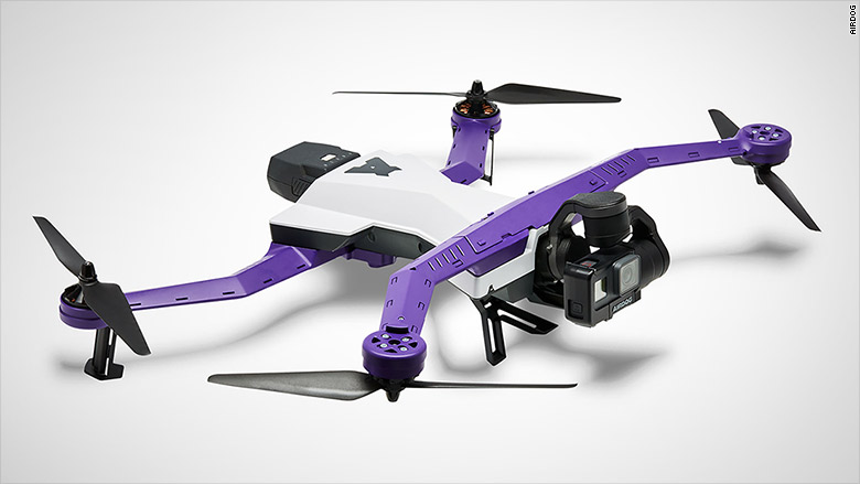Airdog: Programmable Drone Follow You Down the Slopes