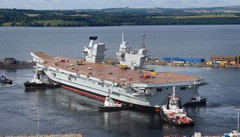 Does Britain Big New Warship Still Run Windows XP?
