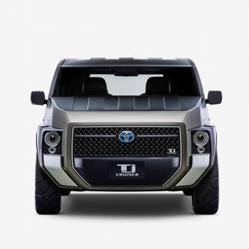 Toyota to Premiere Tj CRUISER at Tokyo Motor Show 2017