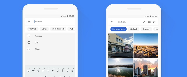 Files Go:  A Smarter Search for Files on Your Phone
