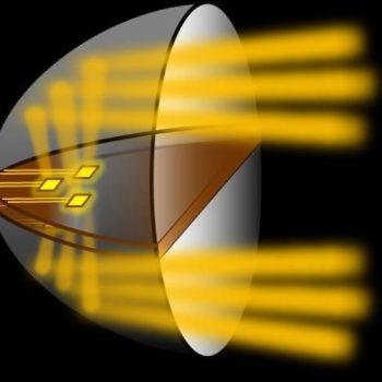Powerful LED Based Train Headlight Optimized for Energy Savings