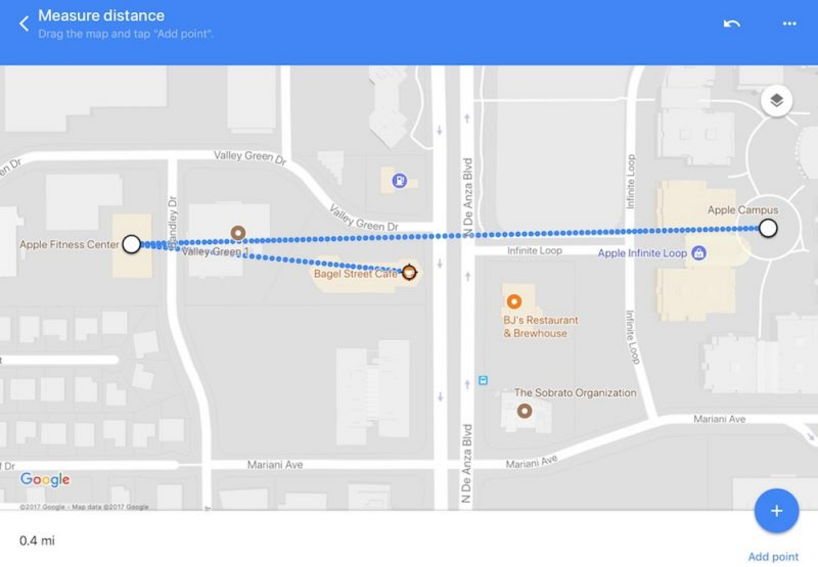 How to Measure a Straight Line in Google Maps