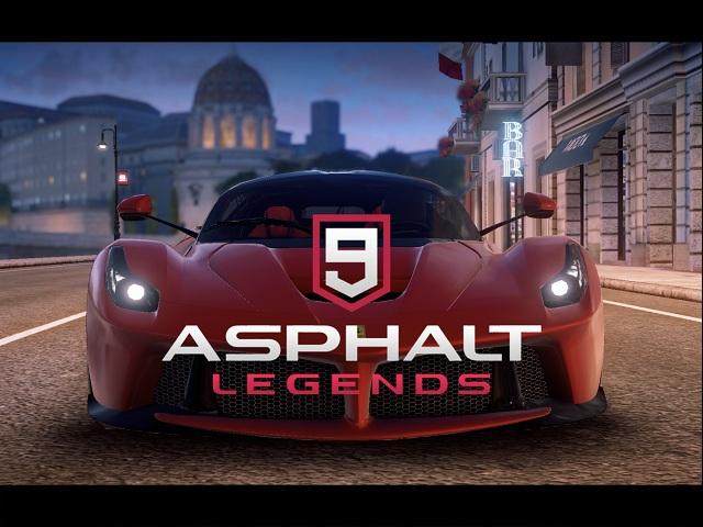 Asphalt 9 Legends Free Android games
