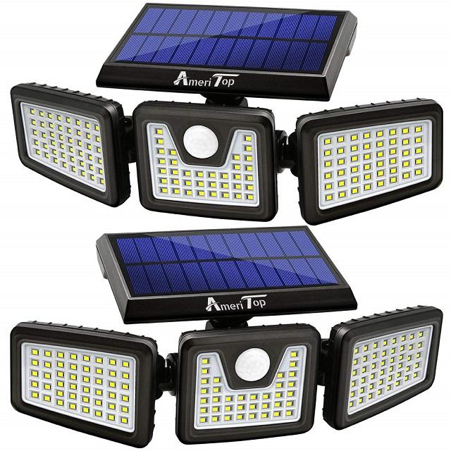 AmeriTop 128 LED 800LM Wireless Solar Motion LED Light