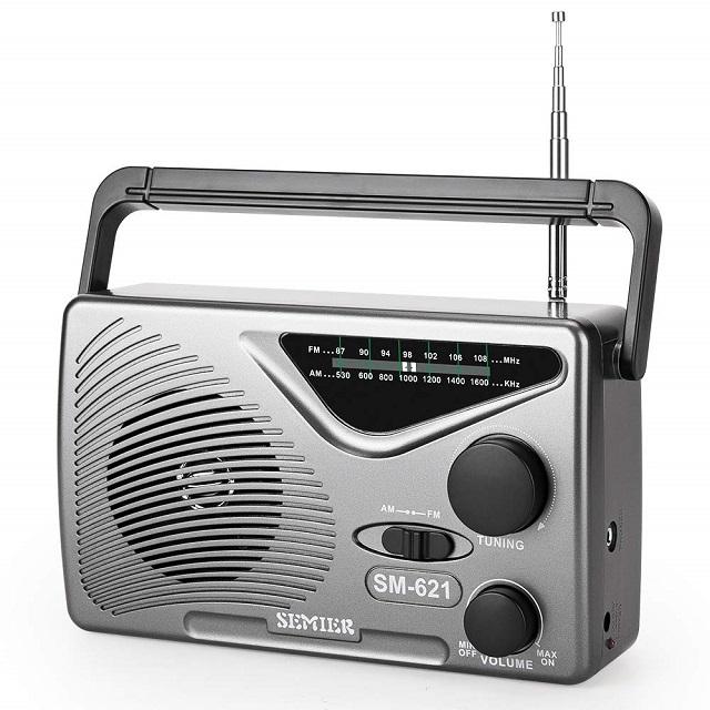 SEMIER AM-FM Portable Radio