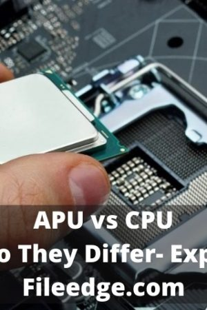 APU vs CPU- How Do They Differ- Explained